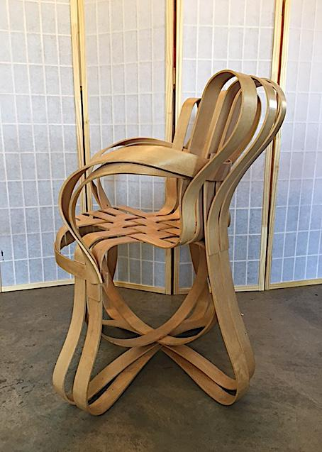 frank gehry chair rustic lounge for knoll modern cross check chairish sale in new york image 6