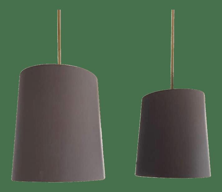 robert abbey large pendant lights a pair