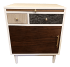 West Elm Patchwork Side Table Nightstand
