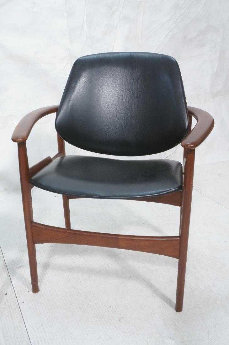 contemporary lounge chairs faux cowhide chair 1950s vintage hovmand olsen for jutex danish modern a pair