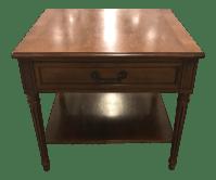 Mid-Century Henredon Side Table   Chairish