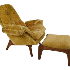 Adrian Pearsall Chair Designs High Back Office With Headrest Lounge Ottoman By Chairish For Sale