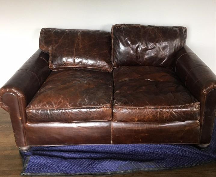 72 lancaster leather sofa patio furniture sectional sofas restoration hardware chairish italian brompton cocoa luxe depth