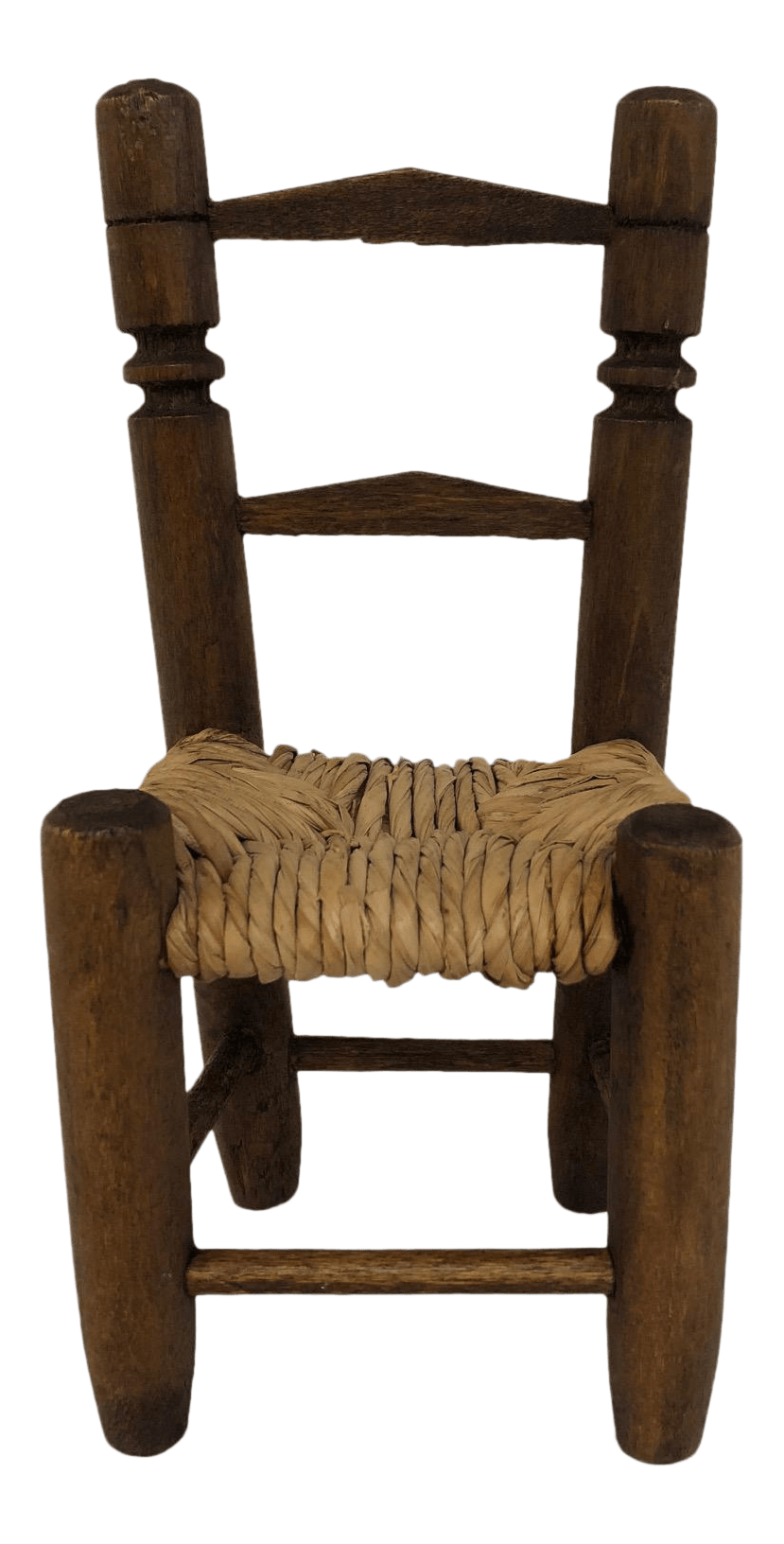handmade wooden chairs upholstered dining with arms miniature chair chairish