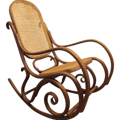 Bent Wood Rocking Chair English Roll Arm And A Half Vintage Mid Century Thonet Style Bentwood Chairish For Sale