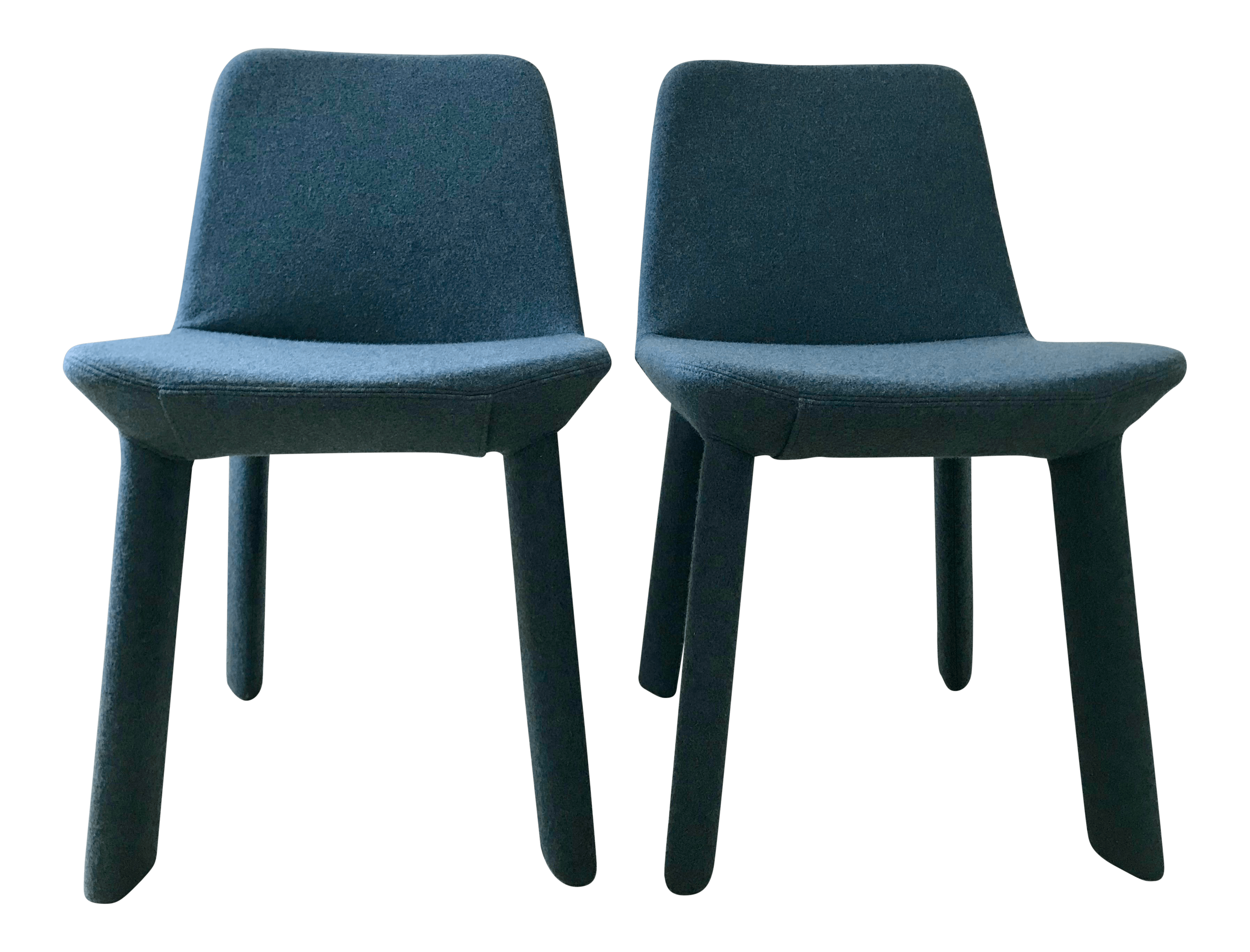 blue dot chairs hanging chair lahore blu marine neat dining a pair chairish for sale