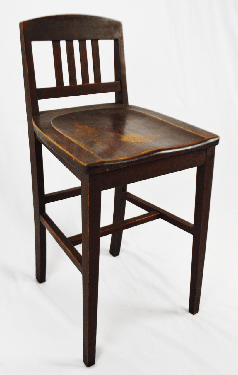 sikes chair company 4 less antique arts crafts counter stool chairish for sale image 13 of