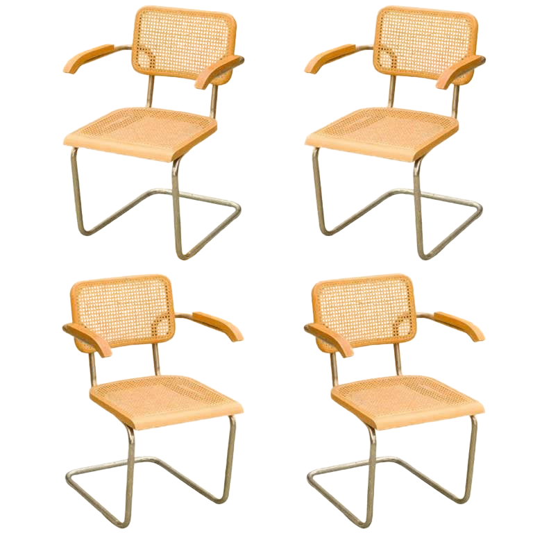 breuer chairs for sale dining chair seat covers nz gently used marcel furniture up to 50 off at chairish 1970s art deco wicker back cesca set of 4 50th anniversary