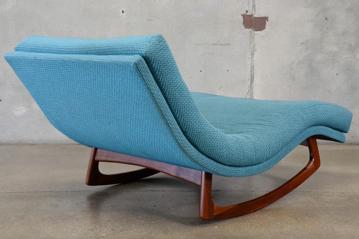 adrian pearsall rocking chair desk and with storage bin chaise lounge chairish craft associates for sale image 4 of 7