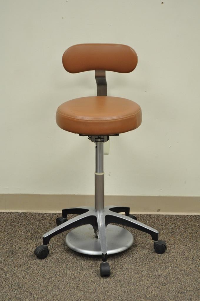 vintage dentist chair sitting room chairs designs mid century industrial modern adjustable dental stool seat for sale image