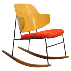 What Is A Rocking Chair Floating High Vintage Used Chairs For Sale Chairish Mid Century Danish Modern Lb Kofod Larsen Penguin Rocker