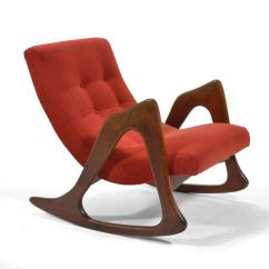 Adrian Pearsall Chair Designs Press Back Incredible Rocking By Craft Associates Decaso S Best Are Strong Sculptural Statements With Solid Walnut Arms Legs Supporting Upholstered Seats