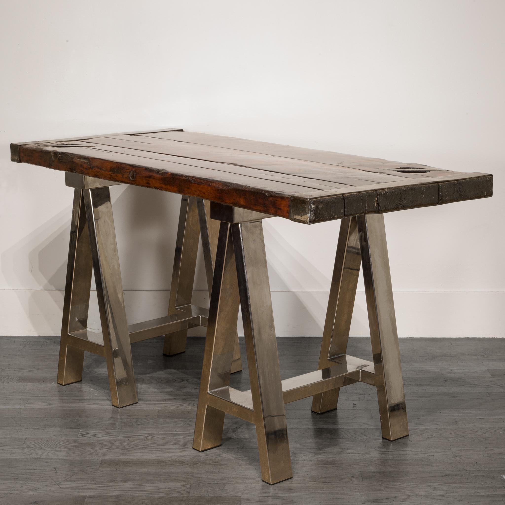Hatch Cover Table Legs
