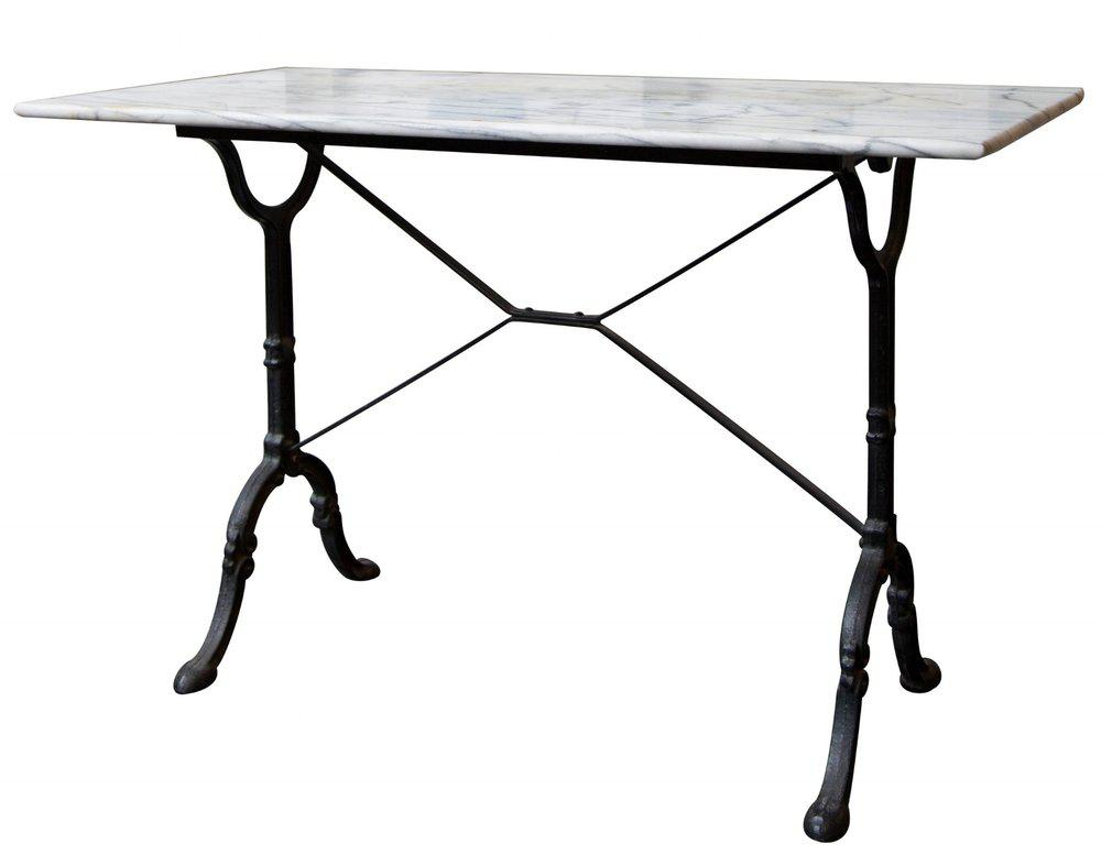 antique french bistro table and chairs tiffany blue chair covers for sale marble chairish image 10 of