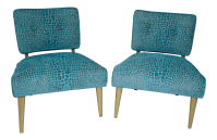 Kroehler Mid-Century Modern Chairs - A Pair | Chairish