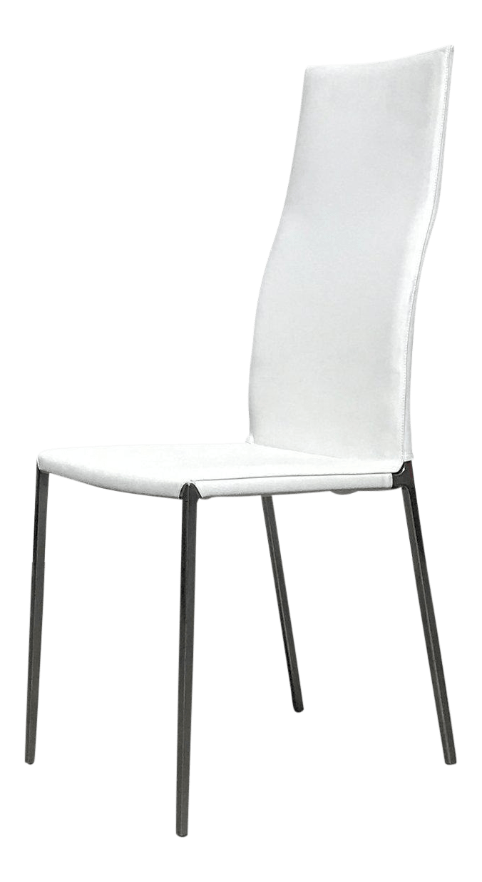 high back dining chair folding and table set for toddler roberto barbieri zanotta lialta chairs a pair