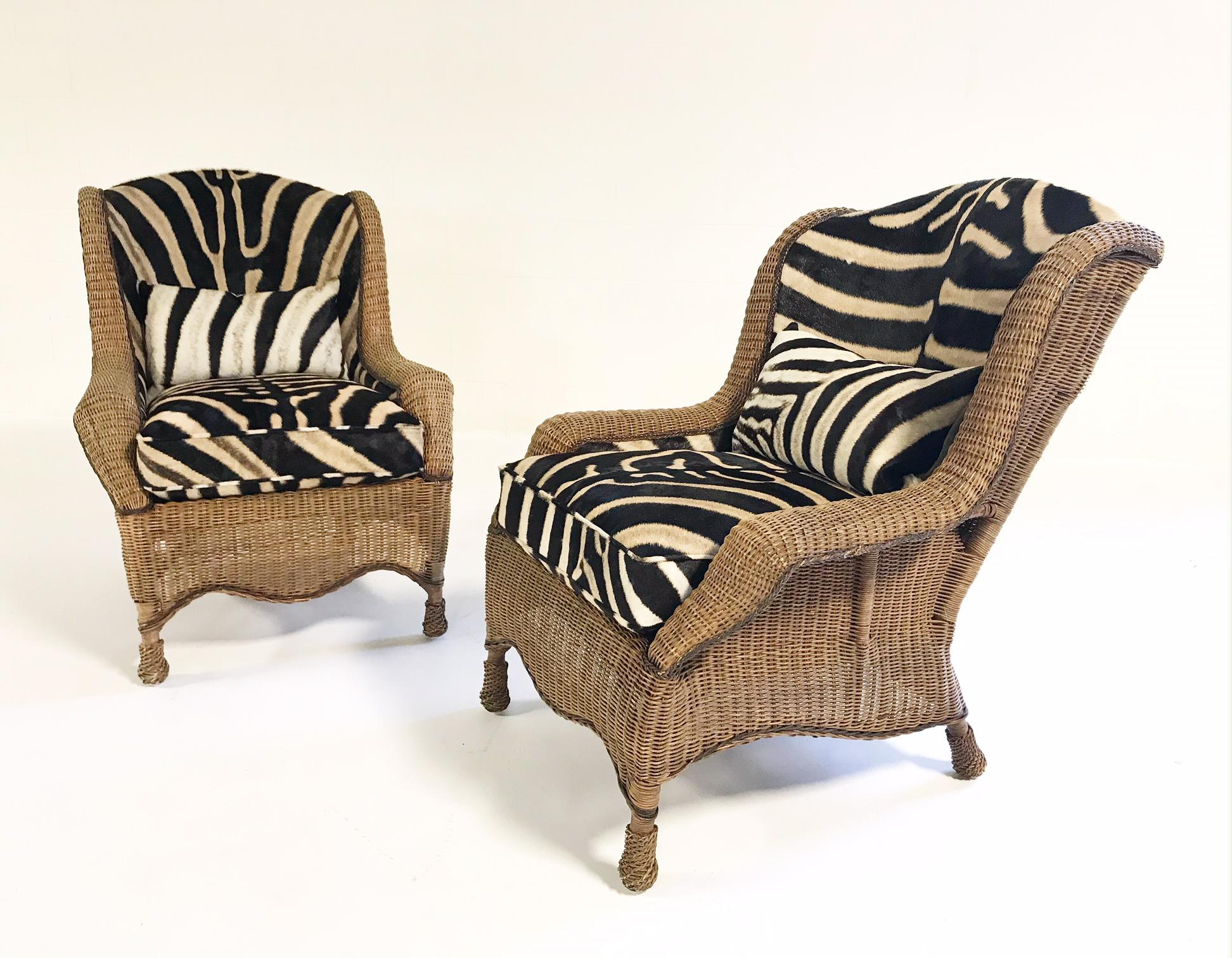 wicker wingback chairs wedding chair bows exceptional vintage ralph lauren restored in if we had a farm africa at the foot of ngong hills primitive