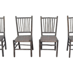 Hickory Chairs For Sale Shower Chair With Wheels And Removable Arms Antique Designer Old Furniture Company Decaso Signed Original Grey Painted