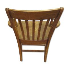 Vintage Wooden Chairs Ethan Allen Club Chair Chairish For Sale Image 4 Of 7