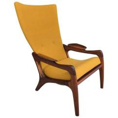 Adrian Pearsall Chair Designs Vanity With Back Superb 1960s High Wing Lounge Decaso For Sale In Las Vegas Image 6