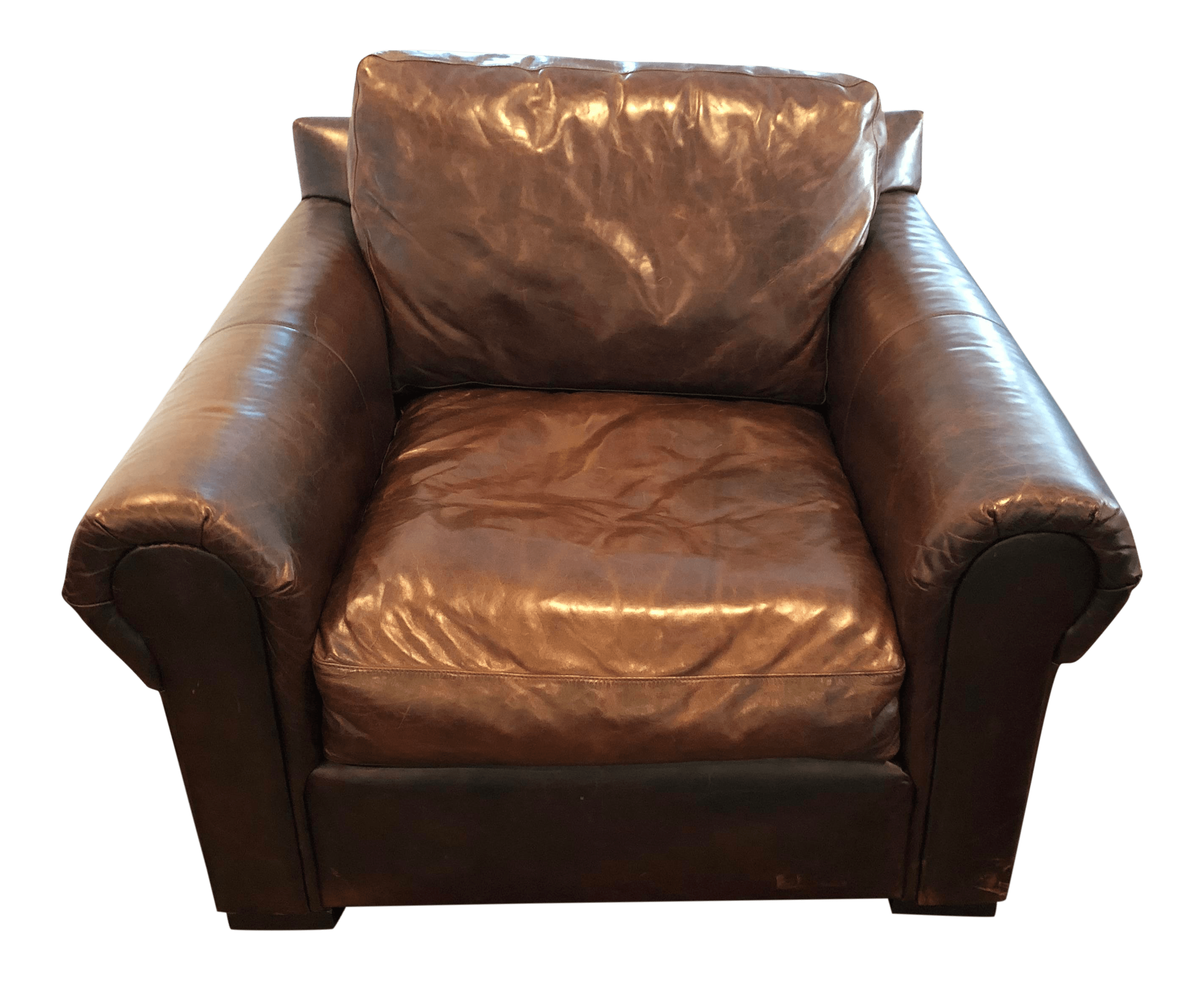 Restoration Hardware Leather Chairs Modern Restoration Hardware Lancaster Down Leather Chair