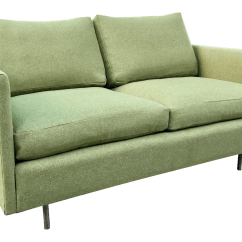 Chair Design Research Revolving Service Vintage Mid Century D R Sofa By Chairish For Sale