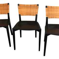 Dining Chairs Italian Design Wedding Chair Cover Hire Bradford Porro Set Of 3 Chairish For Sale