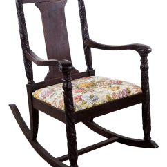 Antique Rocking Chairs For Sale Accent With Arms Set Of 2 Vintage Used Chairish Aimone Mfg Co Victorian Hand Carved Chair