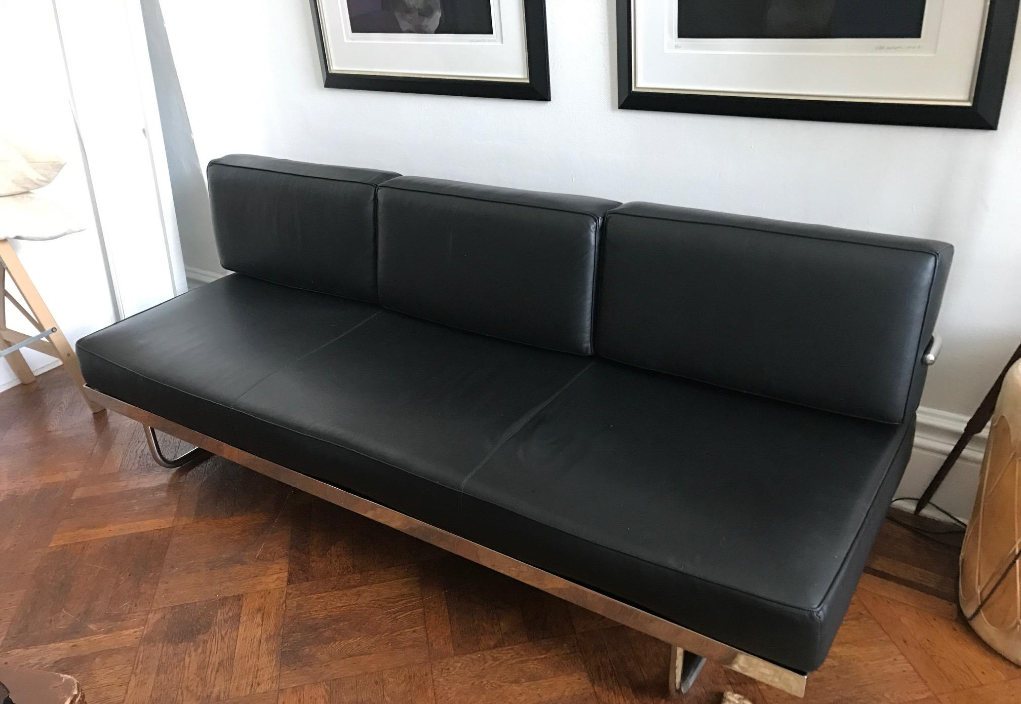 lc5 sofa price gardner white sleeper le corbusier daybed chairish cassina for sale image 4 of 8