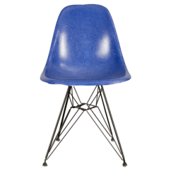 Herman Miller Chairs Vintage Best Ergonomic Under 500 Sophisticated Blue Eames Chair Decaso For Sale