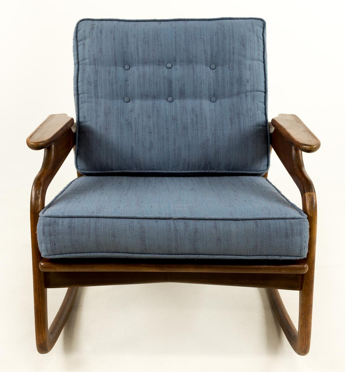 adrian pearsall rocking chair geri clinical recliner chairish mid century modern for sale image 3 of 7