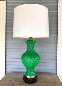 Monumental Rebuilt Chinoiserie Lamp | Chairish