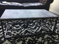 West Elm Marble Coffee Table | Chairish