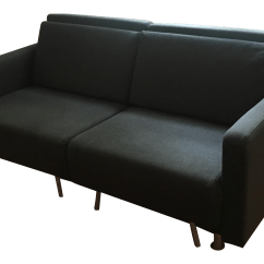 Sleeper Sofas Chicago Il Patterned Klippan Sofa Covers Boconcept Melo 2 Dark Charcoal Fabric Reclining Chairish For Sale