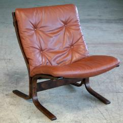 Sling Chairs For Sale Small Tables And Exceptional Pair Of Siesta In Cappuccino Leather By Westnofa Furniture Ingmar Relling