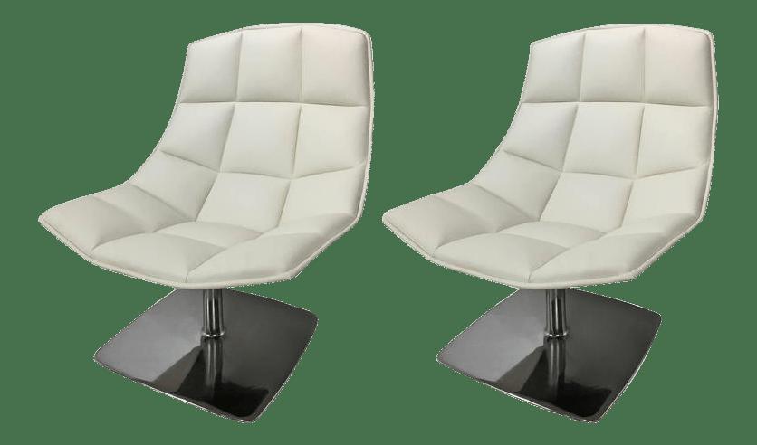 jehs laub lounge chair outdoor papasan cushion cover for knoll pedestal base chairs chairish sale