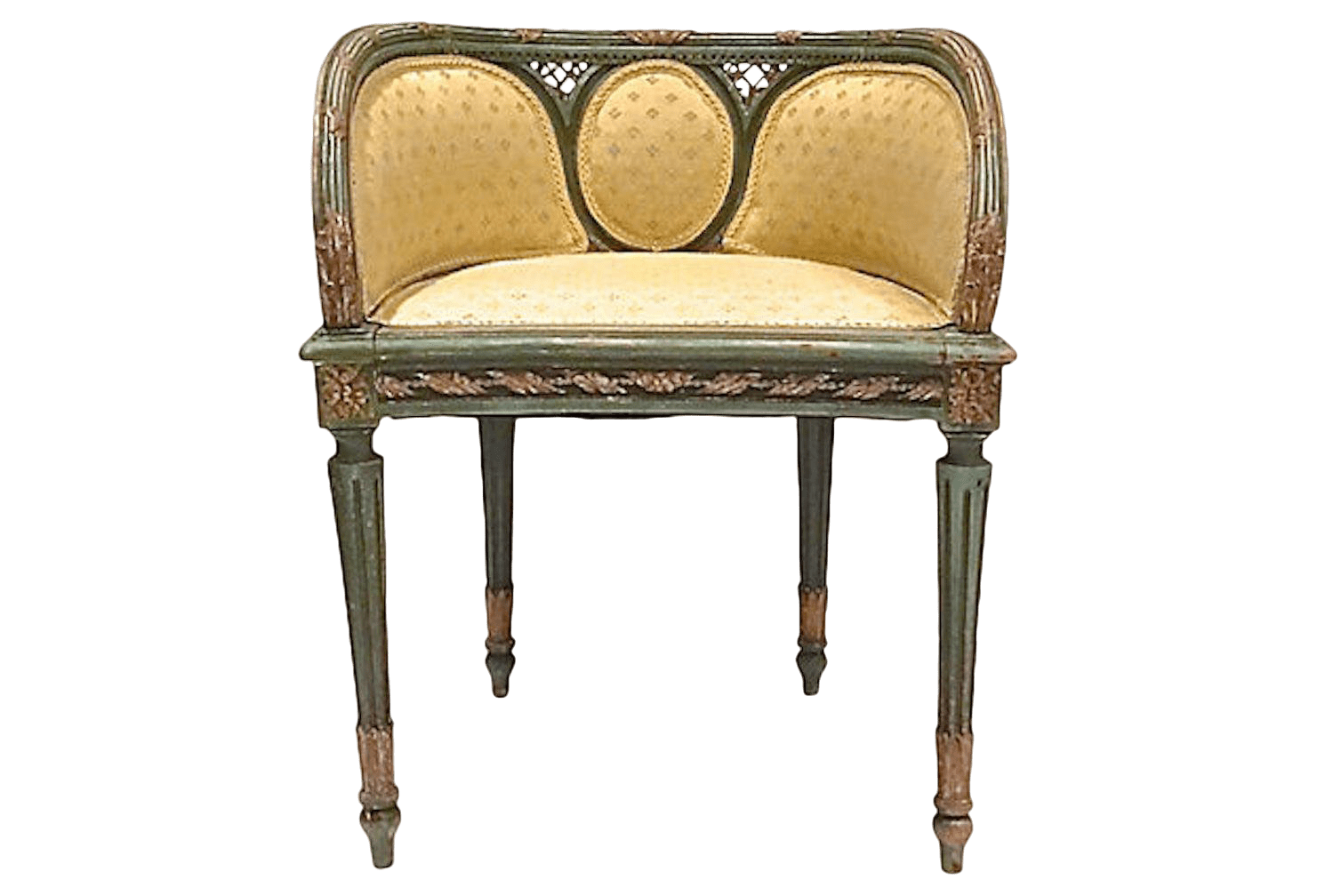 antique vanity chair plastic see through vintage used benches for sale chairish 19th century bench