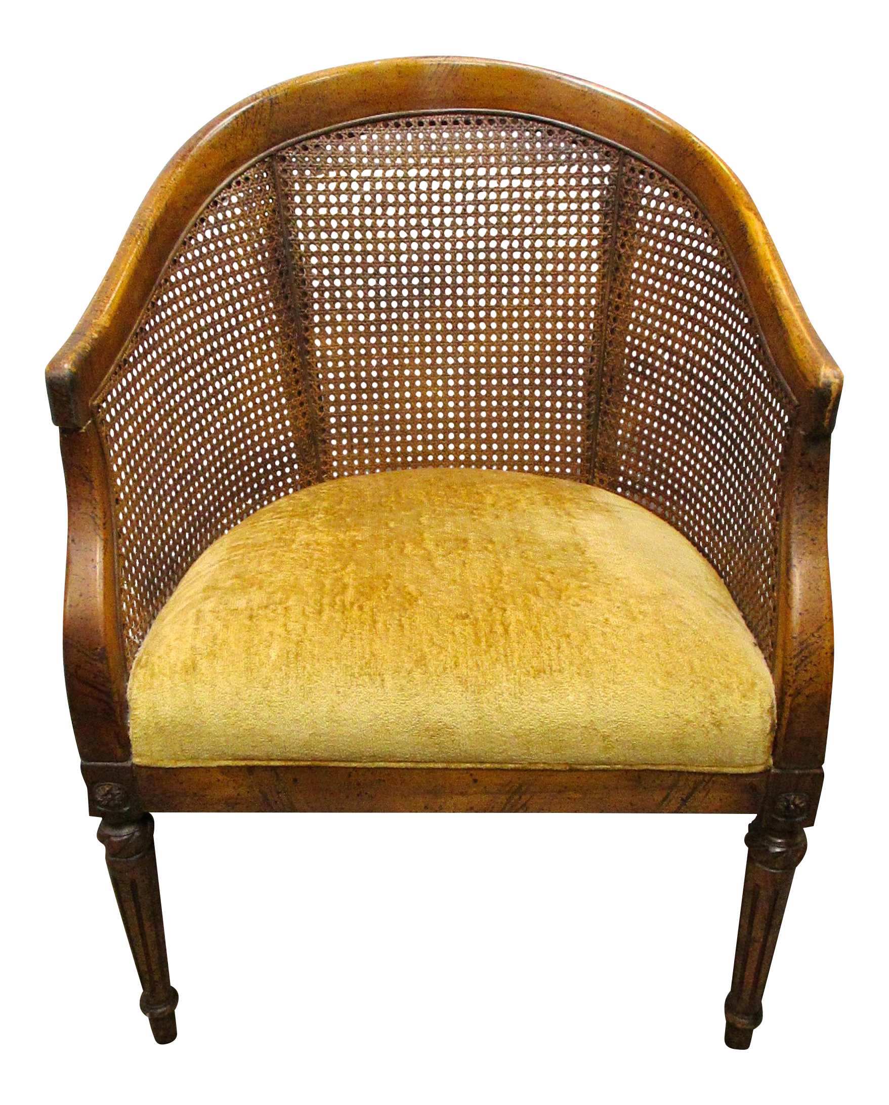 cane back chairs for sale electric chair stairs vintage barrel chairish