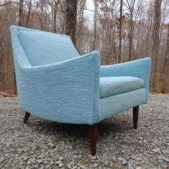 Turquoise Lounge Chair Cosco High Manual Mid Century Danish Modern Style Chairish For Sale Image 13 Of