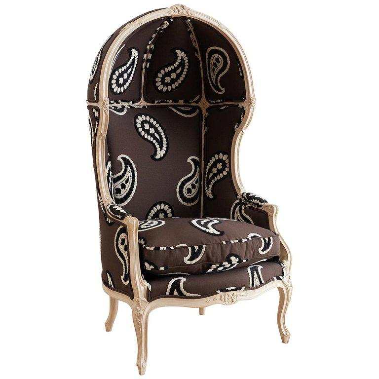 french canopy chair revolving gif louis xv style upholstered porters chairish for sale image 13 of