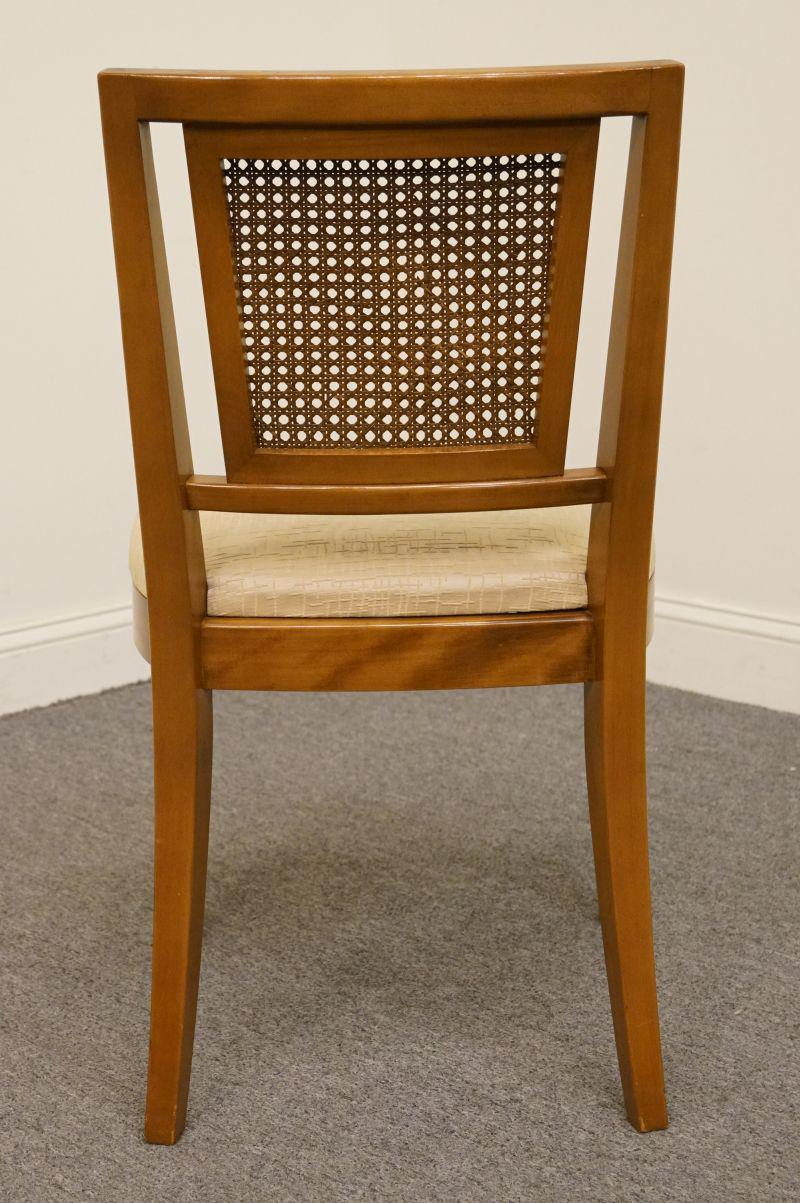 cane back chairs for sale green bay packers bean bag chair late 20th century vintage rway furniture maple colonial dining in kansas