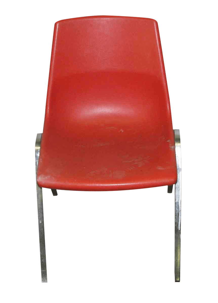 red chairs for sale chair covers to hire nottingham retro with metal legs set of 4 chairish