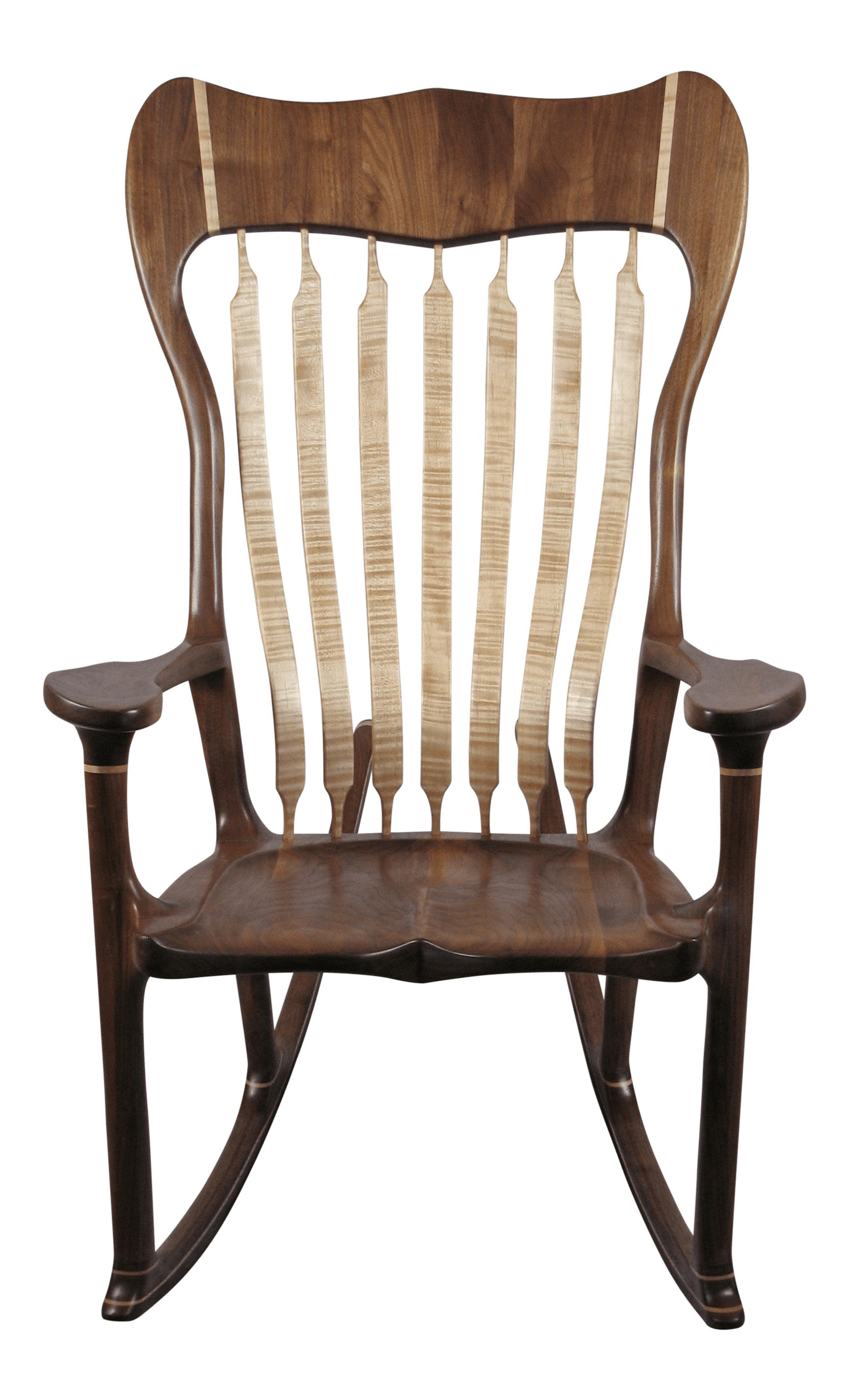 Maloof Style Rocking Chair For Sale