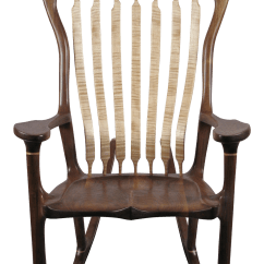 Sam Maloof Rocking Chair Plans Hal Taylor Office Chairs No Arms Bill Riekel Style Chairish For Sale