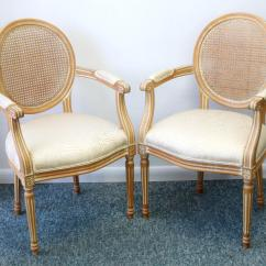 Cane Back Chairs For Sale Ergonomic Kneeling Vintage A Pair Chairish Image 4 Of 13