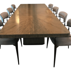 Chairs Dining Table Chair Rentals In Charlotte Nc Vintage Used Sets For Sale Chairish Mid Century Modern Henredon Belvedere And Madison Arm Set 9 Pieces