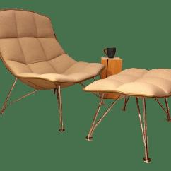 Jehs Laub Lounge Chair Conant Ball Chairs Modern Knoll Brand And Ottoman Chairish