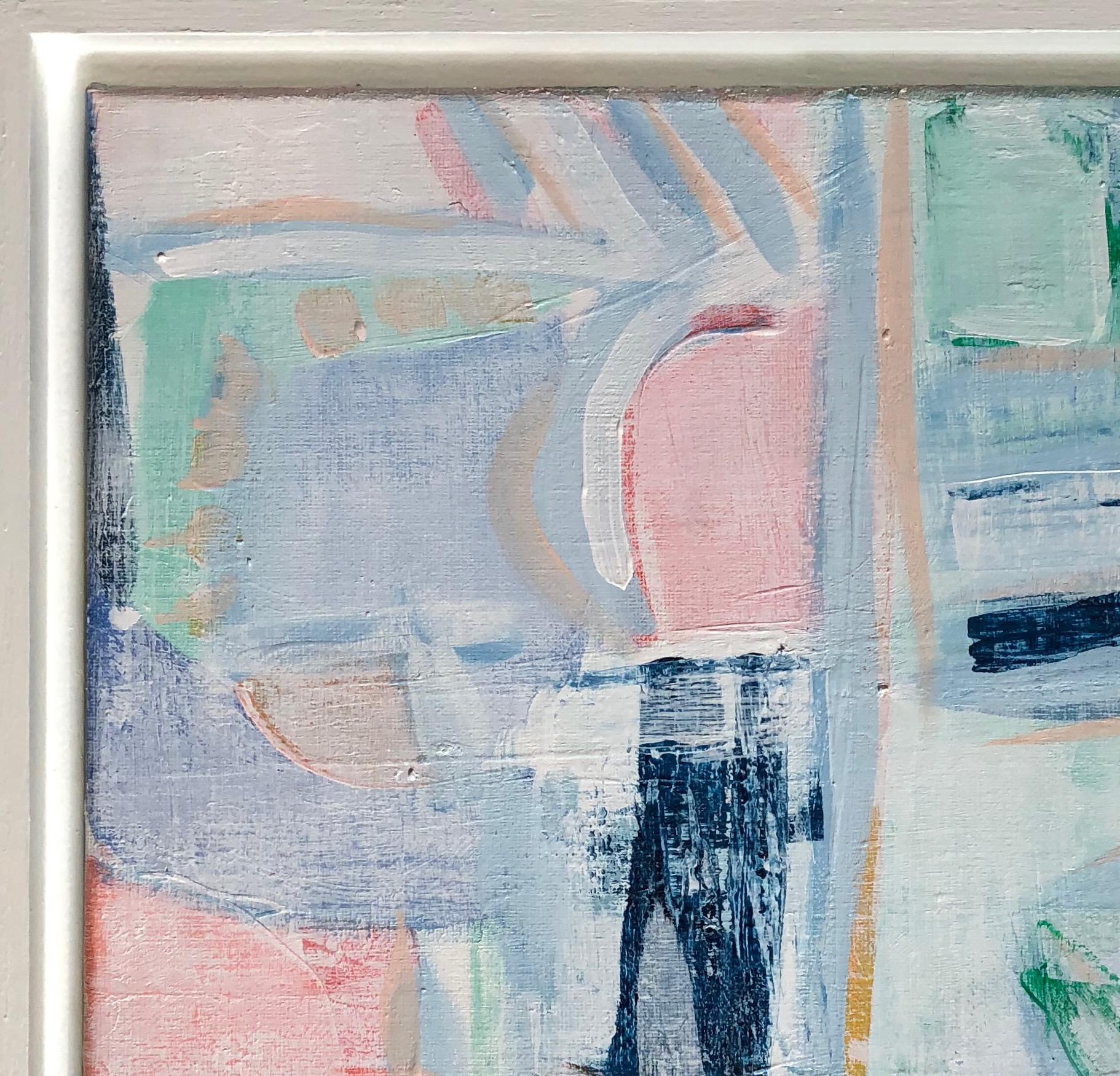 original abstract pastel scenic