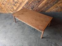 Custom Mid Century Drexel Style Walnut Coffee Table   Chairish