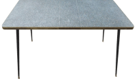 Mid-Century Formica Laminate Table | Chairish